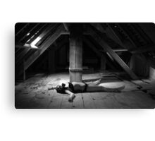 Stripped down and raw Canvas Print