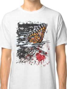Bullet with Butterfly Wings Classic T-Shirt