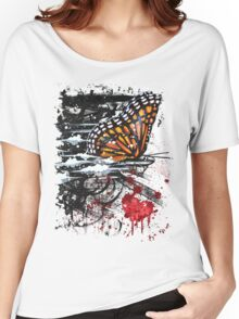 Bullet with Butterfly Wings Women's Relaxed Fit T-Shirt