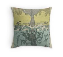The Forth Incarnation. Throw Pillow