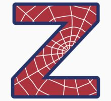 Z letter in Spider-Man style by Stock Image Folio