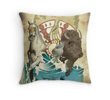 A Fools Game. Throw Pillow