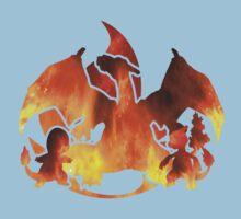 Pokemon Gen 1 - Fire Starters Kids Clothes