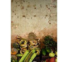 Street Veggies Photographic Print