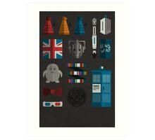 doctor grid Art Print