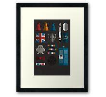 doctor grid Framed Print