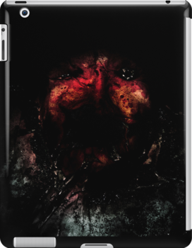 iPAD CASE - From the darkness it devours by Darren Bailey LRPS