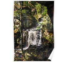 Lower Lumsdale Falls Poster