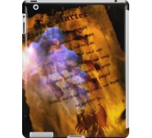 iPAD CASE - Firestarter (a page from the book of shadows) V2 iPad Case/Skin