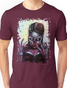 Day of the Dead Girl Zombie Unisex T-Shirt