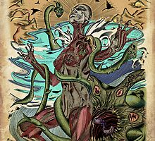 Gaia's Death Mask. by RyanBS