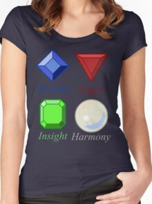 More Than Just Precious Stones Women's Fitted Scoop T-Shirt