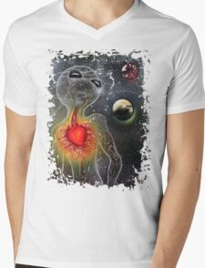 Evolve Mens V-Neck T-Shirt