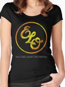 Electric Light Orchestra Women's Fitted Scoop T-Shirt
