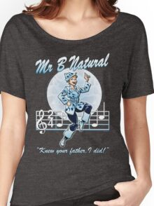 Mr B Natural (with quote) Women's Relaxed Fit T-Shirt