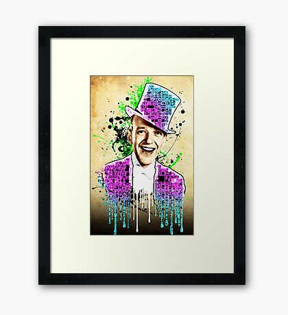 Fred Astaire, new steps. Framed Print