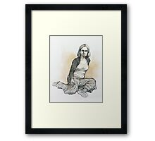 Desiree Framed Print