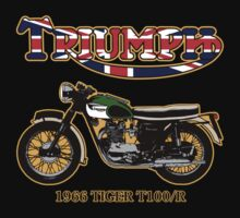 Triumph Tiger Motorcycle Kids Clothes