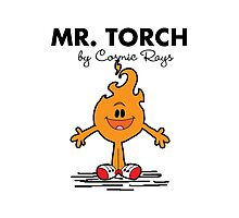 Mr Torch Photographic Print