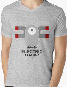 Kanto Electric Company Mens V-Neck T-Shirt