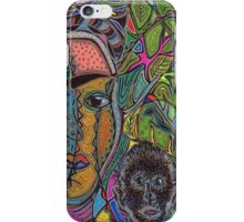 Frida and her Monkey iPhone Case/Skin