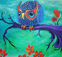 Enchanted Owl by Laura Barbosa