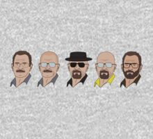 The Evolution of Walter White by nick94
