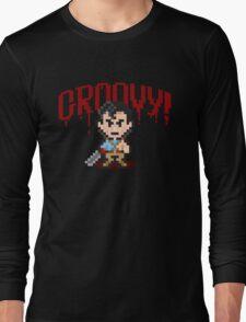 Evil Dead Pixels Long Sleeve T-Shirt