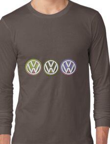 VDub Threesome Long Sleeve T-Shirt