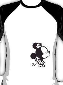 Minnie  Kissing His and Hers T-Shirt
