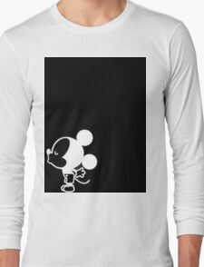 Mickey Kissing His and Her Shirt Long Sleeve T-Shirt