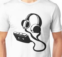 WALKMAN AND HEADPHONES  Unisex T-Shirt