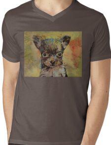 Chihuahua Mens V-Neck T-Shirt