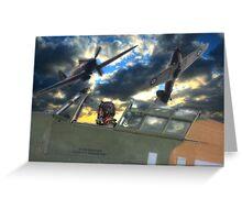 Hurricane Heroes Greeting Card