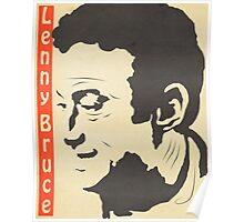 Lenny Bruce Vintage Poster Poster