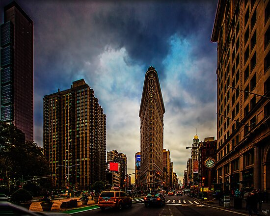 New York City, The Flatiron District by Chris Lord
