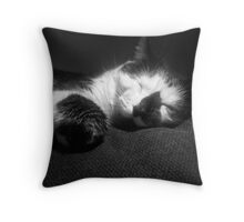Bruder - Black and White Photography Throw Pillow