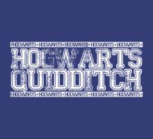 Hogwarts Quidditch T-Shirt by anactofjamie