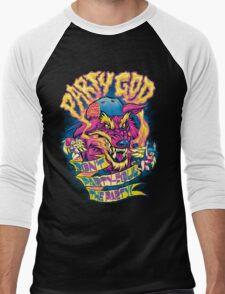 PARTY GOD Men's Baseball ¾ T-Shirt