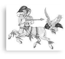 Heavy Metal Mythology Canvas Print
