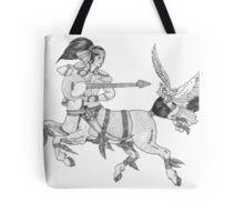 Heavy Metal Mythology Tote Bag