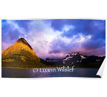 Swift current Lake at Sunrise Poster