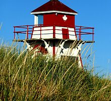 Covehead Harbour Lighthouse II by Kathleen Daley