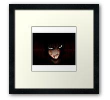 Sasuke Dying Framed Print