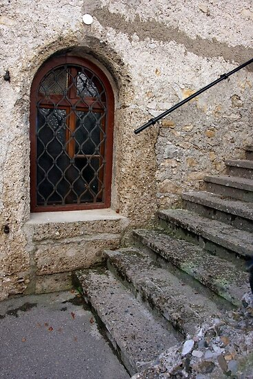 Weathered Stone Stairs by phil decocco