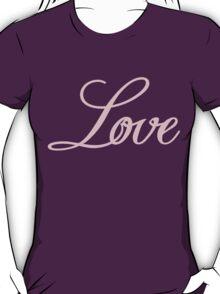 Love Sticker [Bubble Gum] T-Shirt