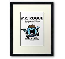 Mr Rogue Framed Print