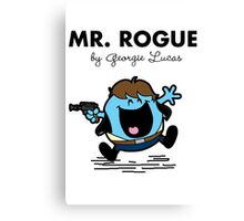Mr Rogue Canvas Print