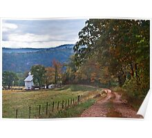 Winding Road to Walnut Grove Poster