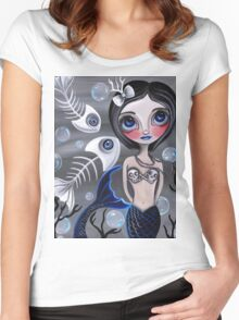 """My Skellyfish Friends"" Women's Fitted Scoop T-Shirt"